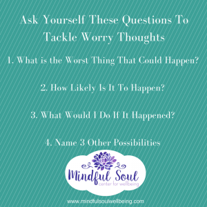 Tackle Worry Thoughts